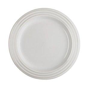 Prato Raso de Cerâmica Le Creuset Branco 22 cm