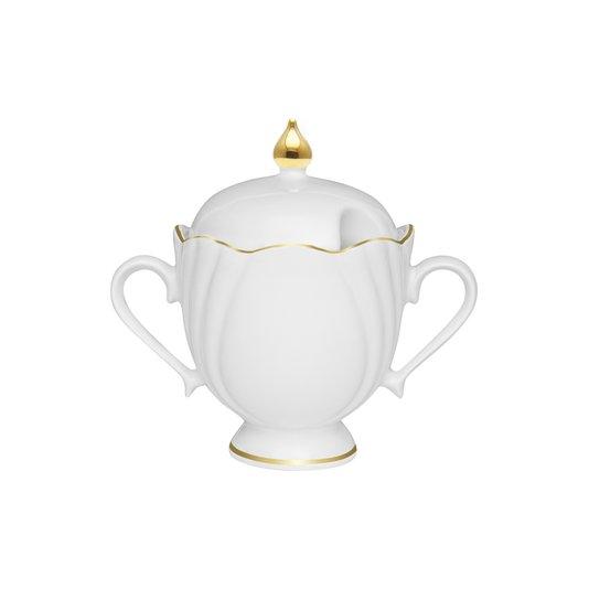 Açucareiro de Porcelana Soleil Victoria Oxford 200 ml