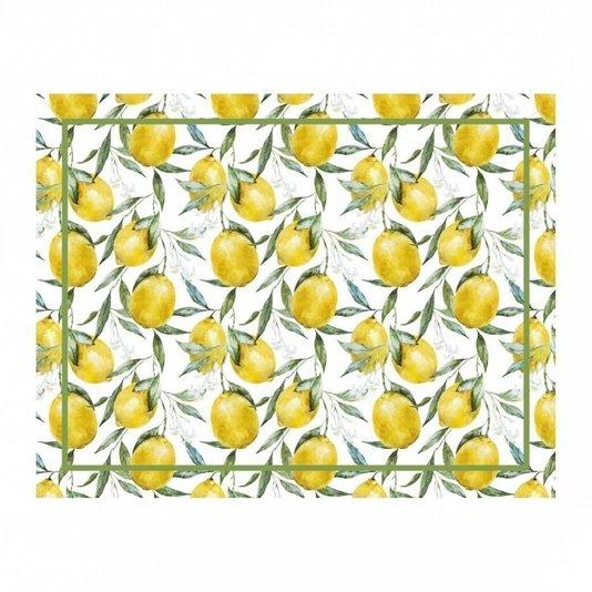 Americano Tecido Ornato Lemon 35 x 45 Copa e Cia