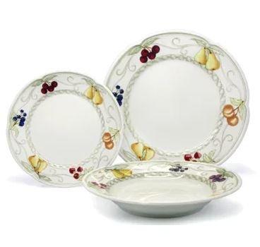 Aparelho De Jantar 30 Peças Provenza Verbano Porcelanas