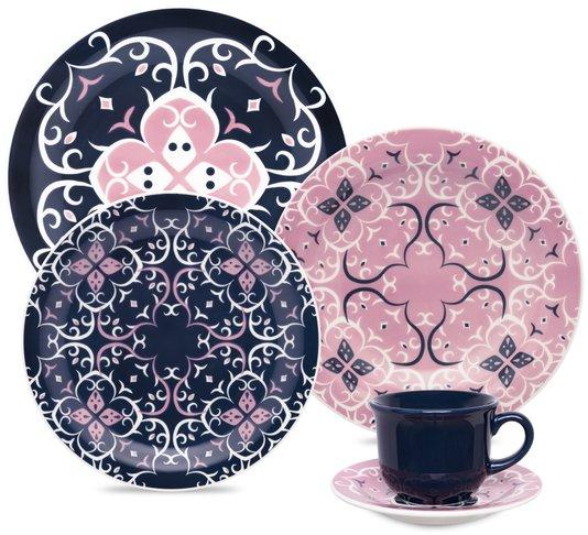 Aparelho de Jantar e Chá 30 Peças Daily Hana Oxford