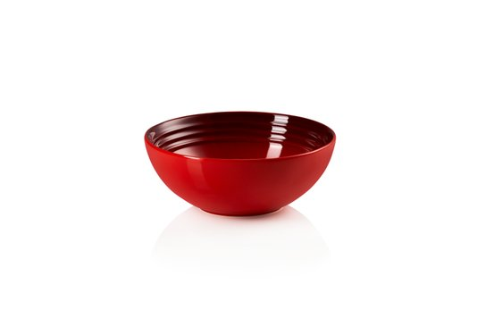 Bowl para Cereal em Cerâmica Le Creuset Vermelho 16 cm