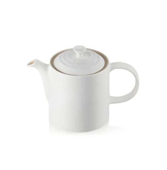 Bule de Cerâmica 1,3L Le Creuset Branco