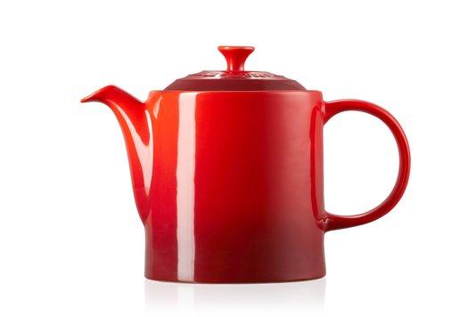 Bule de Cerâmica 1,3L Le Creuset Vermelho