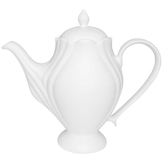 Bule de Porcelana com Tampa Soleil White Oxford 1200 ml