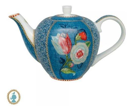 Bule de Porcelana Spring to Life Pip Studio Azul 1600 ml