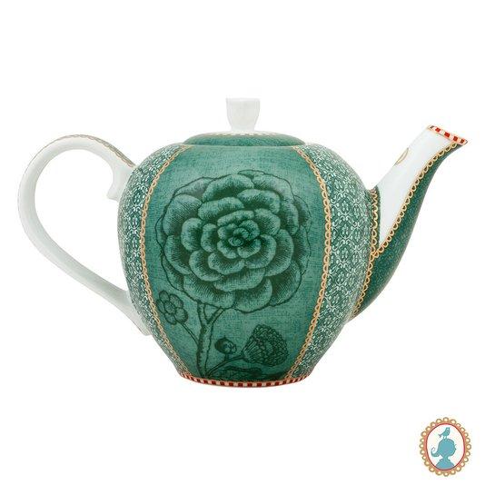 Bule de Porcelana Spring to Life Pip Studio Verde 800 ml