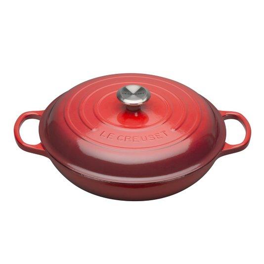 Caçarola Buffet Le Creuset Signature Vermelho 30 cm