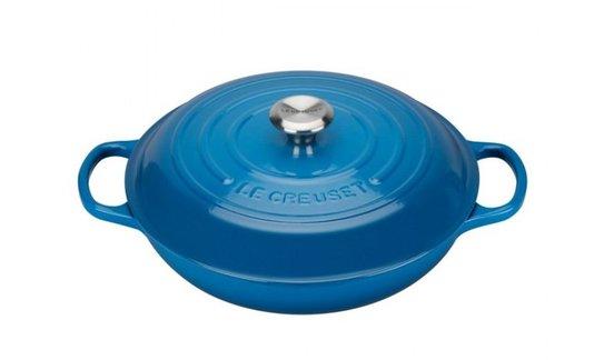 Caçarola Buffet Signature Le Creuset Azul Marseille 30 cm