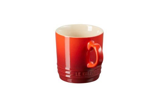 Caneca Para Chá Cerâmica Le Creuset Vermelha 350 ml