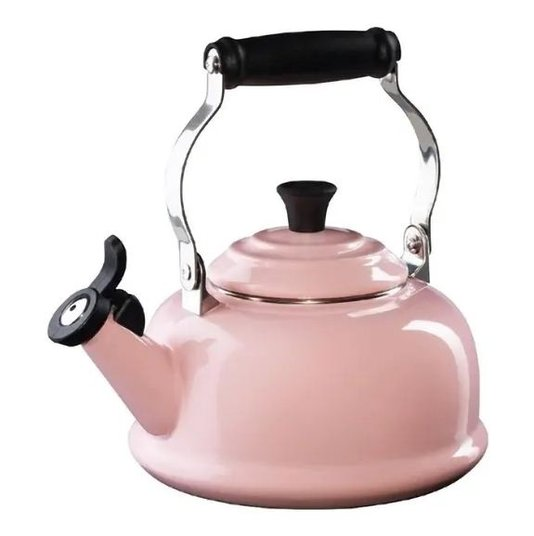 Chaleira com Apito Tradicional Le Creuset Chiffon Pink