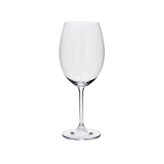 Jogo de 6 Taças Para Água Gastro Cristal Ecológico Bohemia 580 ml
