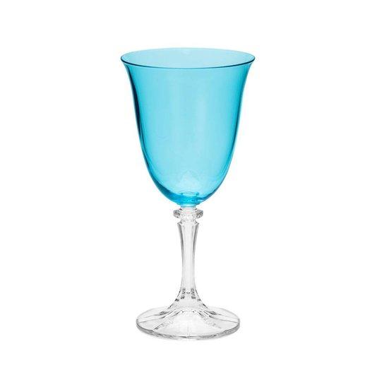 Conjunto com 6 Taças para Água Cristal Ecológico Kleopatra Island Rojemac 360ml