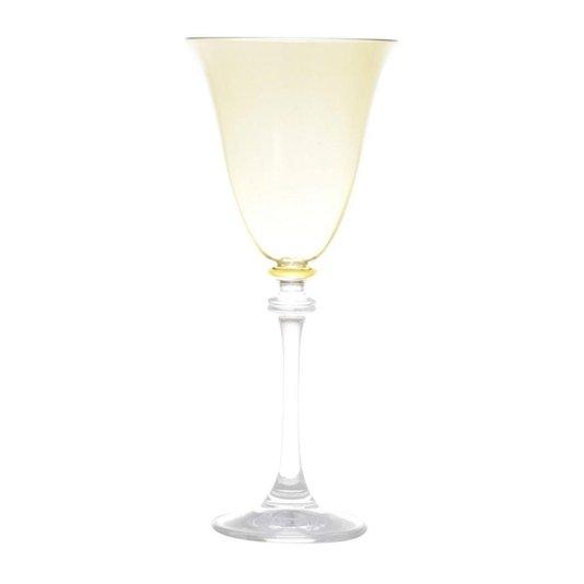 Conjunto de 6 Taças de Cristal para Vinho Tinto Alexandra Bohemia Rojemac Âmbar