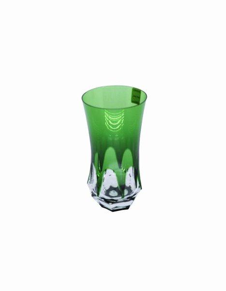 Copo Long Drink em Cristal Overley Mozart Verde Escuro 400 ml