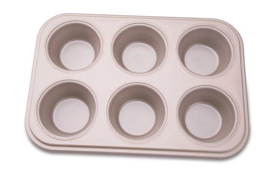 Forma para 6 Cupcakes La Pasticceria Tramontina Marrom