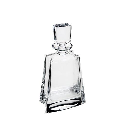Garrafa Baixa de Cristal Kathrene Rojemac Transparente 700 ml