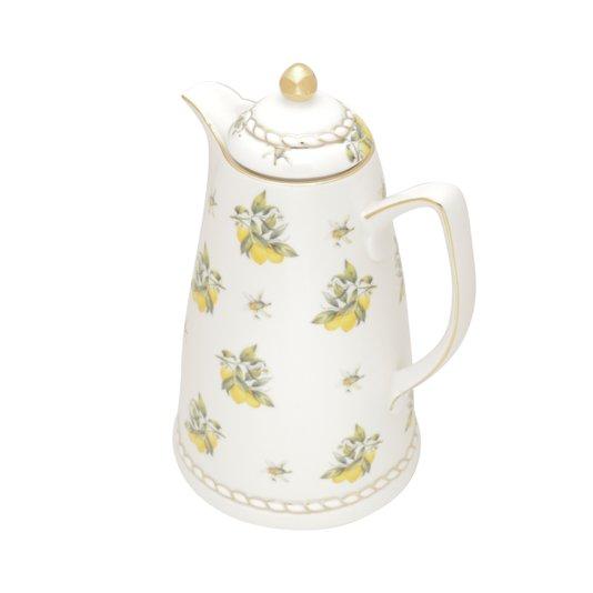 Garrafa Térmica De Porcelana Lemon Rojemac 900ml