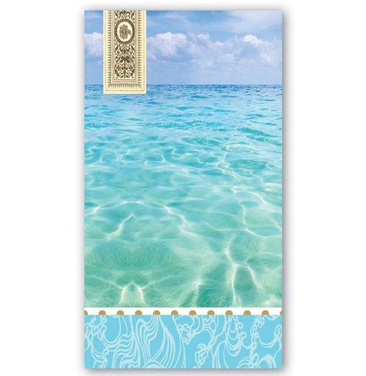 Guardanapo de Papel Hostess Beach Michel Design 20x11cm