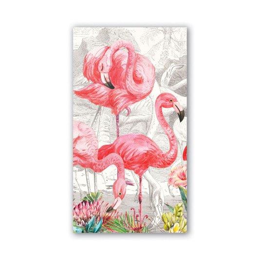 Guardanapo de Papel Hostess Flamingo Michel Design 20 x 11cm