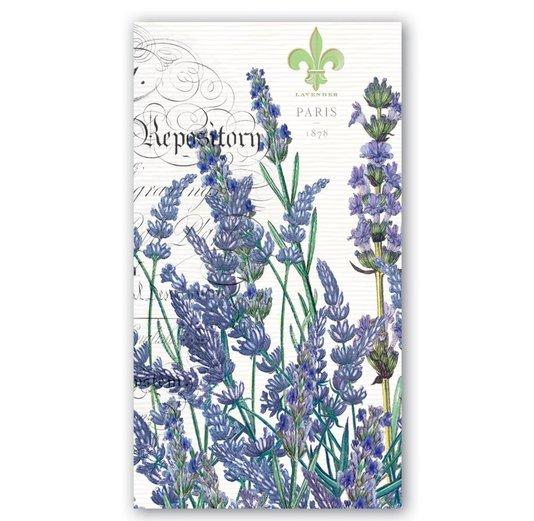 Guardanapo de Papel Hostess Lavender Rosemary Michel Design Works 20x11cm