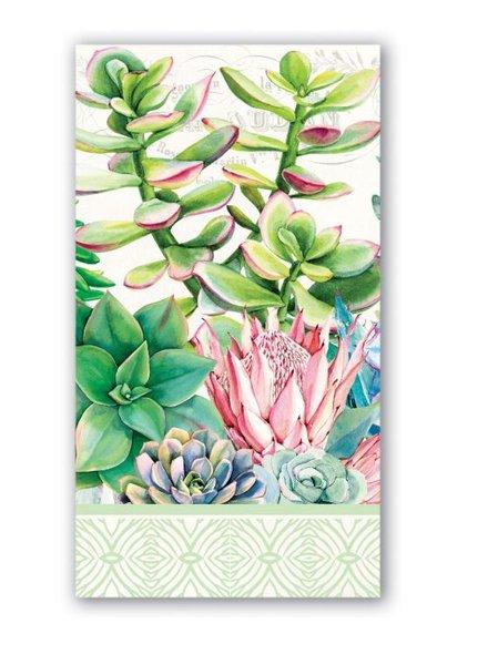 Guardanapo de Papel Hostess Pink Cactus Michel Design