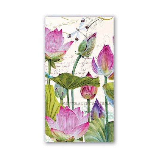 Guardanapo de Papel Hostess Water Lilies Michel Design 20 cm