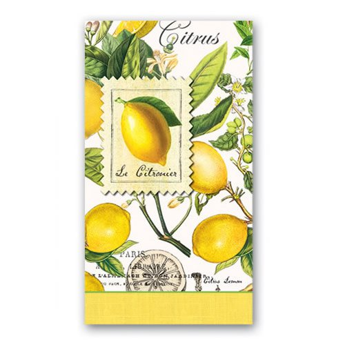 Guardanapo de Papel Lemon Michel Design Works 20 x 11 cm