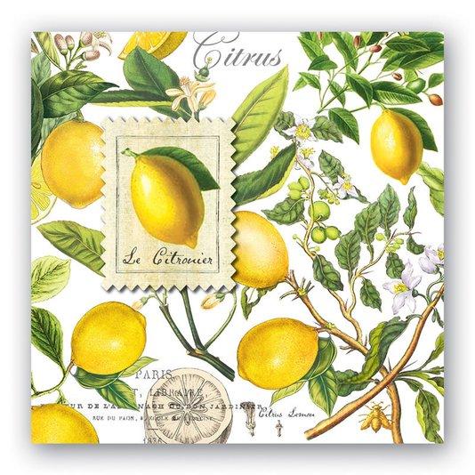 Guardanapo de Papel Lemons Michel Design Works 16,5 x 16,5 cm
