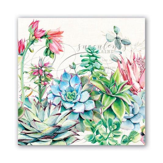 Guardanapo Lanche Pink Cactus Michel Design Works 16,5 cm