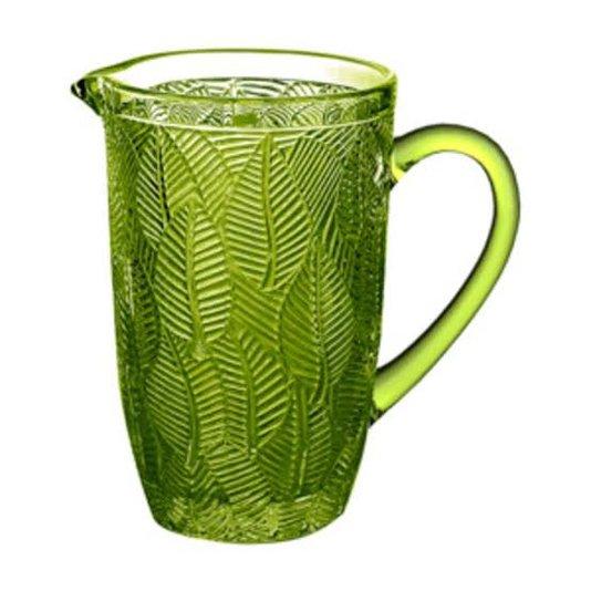 Jarra de Cristal Leaves Rojemac Verde 1,3 Litros