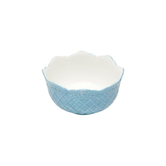 Jogo com 6 Tigelas Bowls Givemy Wolff Azul Claro 14 cm