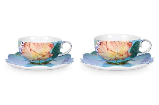 Jogo de 2 Xícaras de Chá Royal Flowers Pip Studio 225 ml