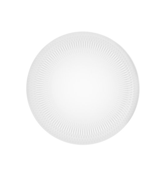 Jogo de 4 Pratos de Sobremesa Utopia Vista Alegre Branco