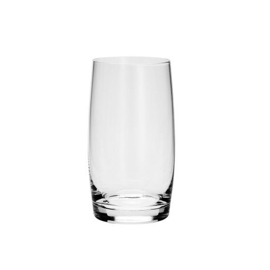 Jogo de 6 Copos Long Drink em Cristal Bohemia Incolor 400 ml