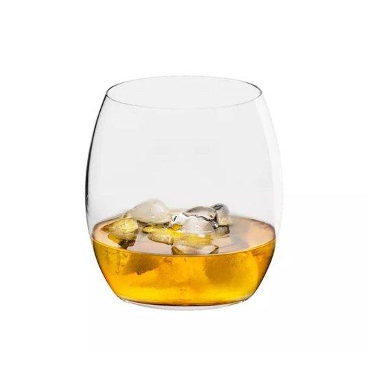 Jogo de 6 Copos para Whisky em Cristal Oxford 530 ml