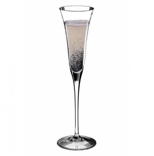 Jogo de 6 Taças para Champagne em Cristal Mozart Incolor
