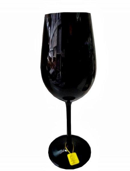 Jogo de 6 Taças para Chardonay em Cristal Strauss Preto 390 ml