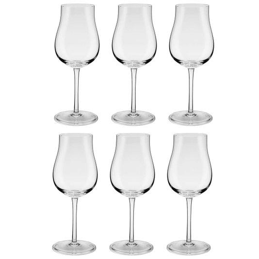 Jogo de 6 Taças para Vinho Tinto em Cristal Oxford 390 ml