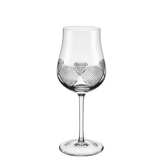 Jogo de 6 Taças para Vinho Tinto Rubi Cristal Oxford