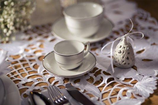 Jogo de Jantar e Chá 30 Peças Flamingo Diamond Oxford