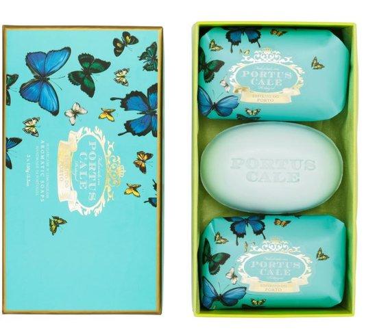 Kit 3 Sabonetes Butterflies em barra 150g Castelbel