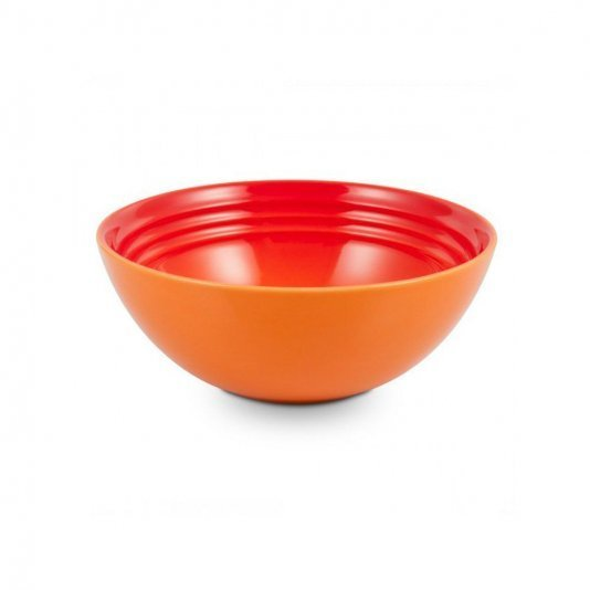 Kit 4 Bowls para Cereal Laranja Le Creuset 16 cm