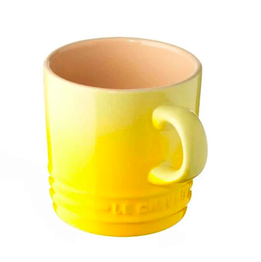 Kit 4 Canecas Espresso 100 ml Amarelo Soleil Le Creuset