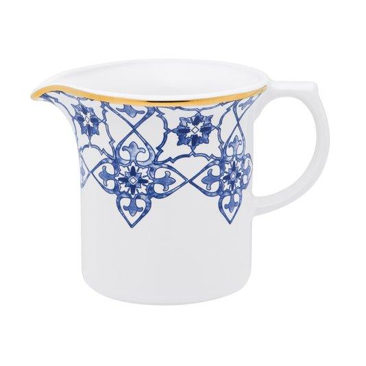 Leiteira de Porcelana Coup Lusitana Oxford 600 ml