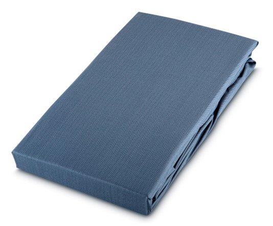 Lençol Avulso com Elástico Queen 59st By The Bed 300 Fios Azul
