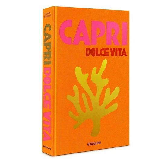 Livro Capri Dolce Vita Assouline