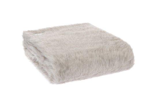 Manta Ampezzo Pelo 1,45 x 1,80 Trussardi Grey