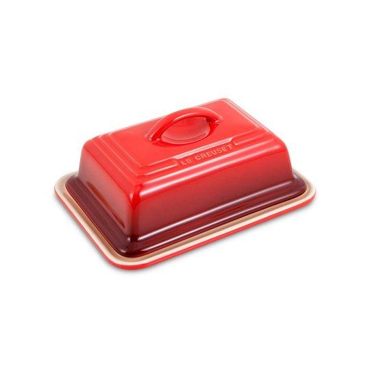 Manteigueira de Cerâmica Le Creuset Vermelha 250 ml