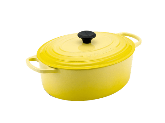 Panela Oval Le Creuset Amarelo Soleil 31 cm